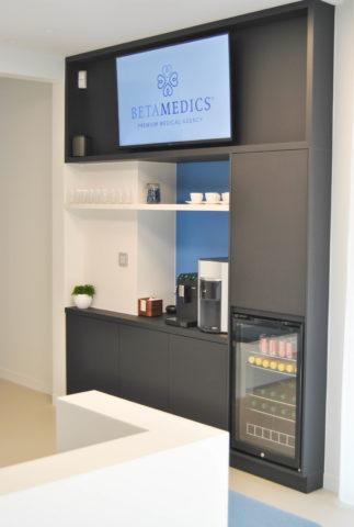 Betamedics wachtruimte