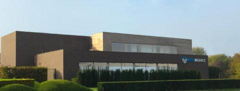 Betamedics gebouw voorkant